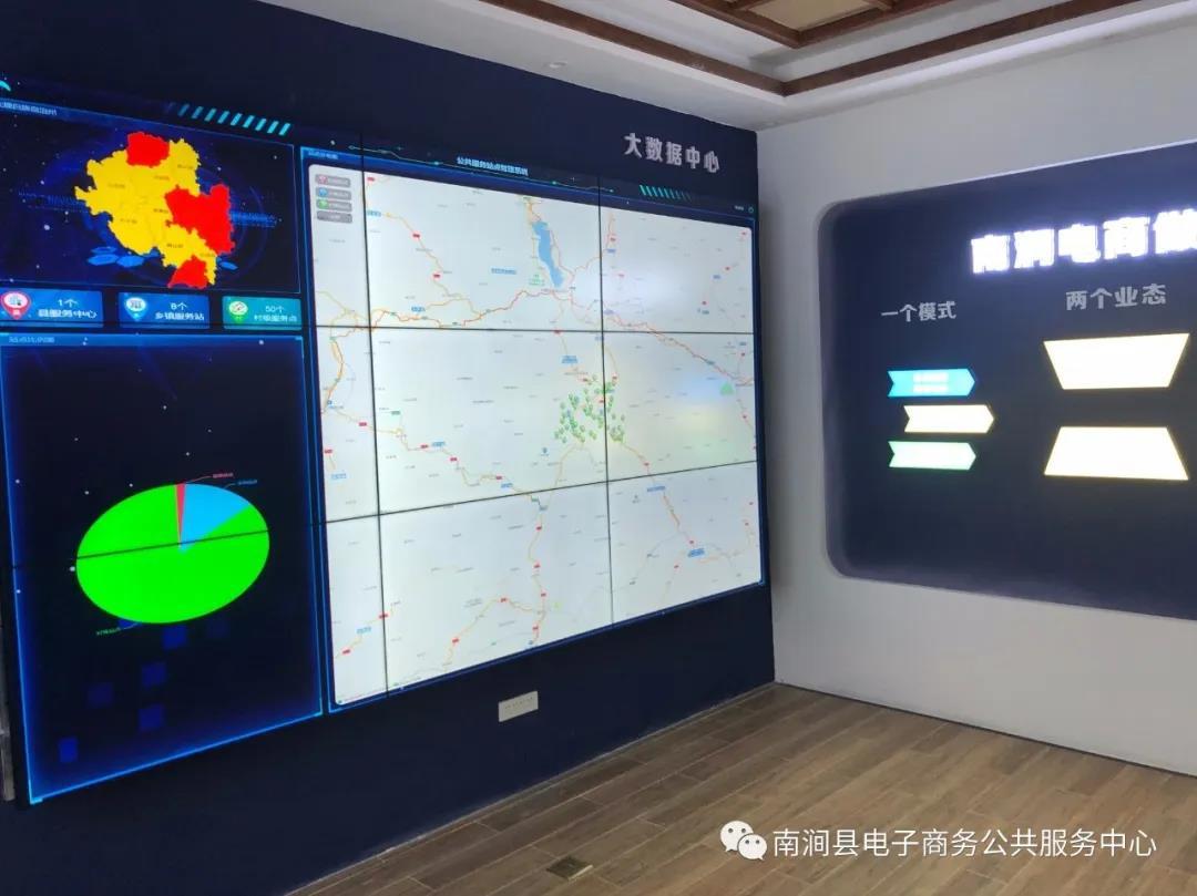 南涧县电子商务进农村综合示范工作2020年3月工作